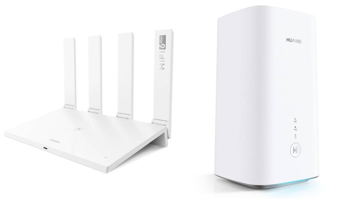 Huawei AX3, Huawei AX3 Pro, Huawei 5G CPE Pro 2 Routers With Wi-Fi 6+ Support Launched
