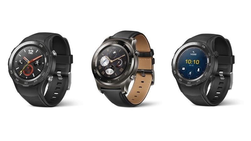 Huawei Watch 2 के तीन वेरिएंट भारत में लॉन्च
