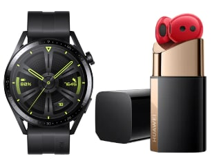 Huawei Watch GT 3 With Up to 14-Day Battery Life Launched, FreeBuds Lipstick With Fashionable Charging Case Also Unveield