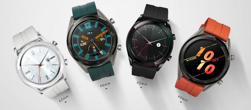 Les éditions huawei watch gt active et élégante Huawei Watch GT édition active Huawei Watch GT édition élégante