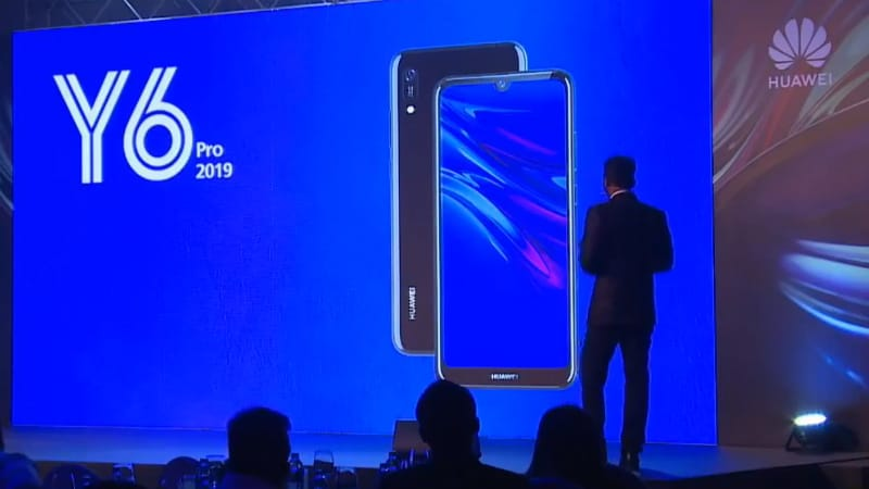 Huawei Y6 Pro (2019) With 'Dewdrop' Display, Leather Design