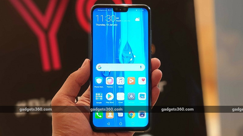 Huawei Y9 (2019) With 4 Cameras, Display Notch Launched in India: Price, Specifications