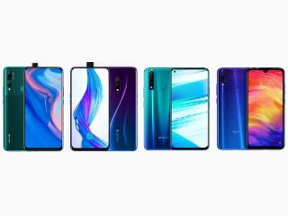 Huawei Y9 Prime 2019, Realme X, Vivo Z1 Pro और Xiaomi Redmi Note 7 Pro में कौन बेहतर?