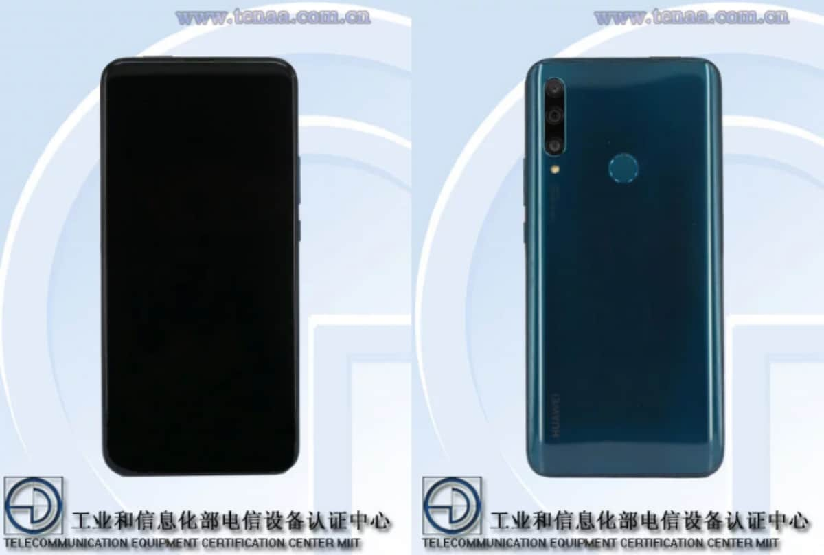 Huawei Enjoy 10 Plus With Triple Rear Cameras, Pop-Up Selfie Camera Spotted on TENAA