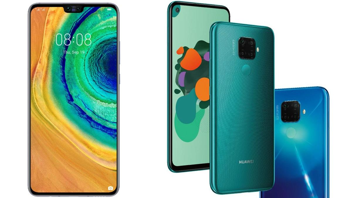 huaweimate30lite evanblass main Huawei Mate 30 Lite