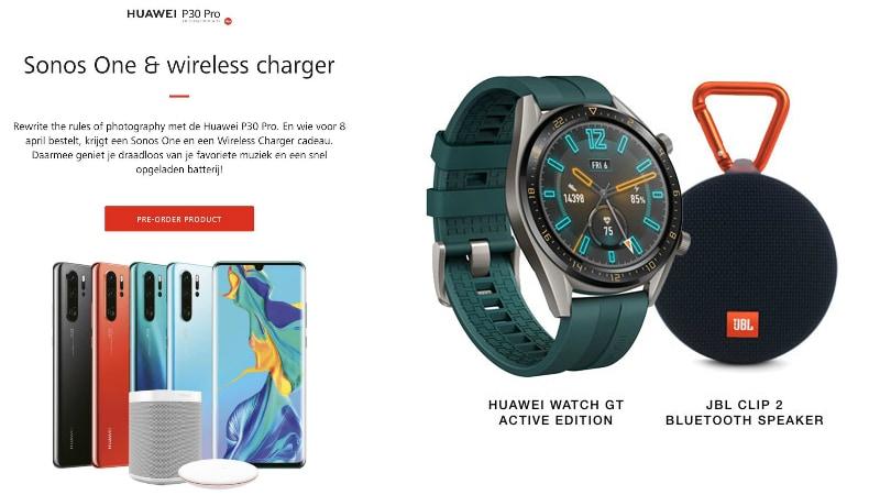 huaweip30p30pro evleak ishan Huawei Watch