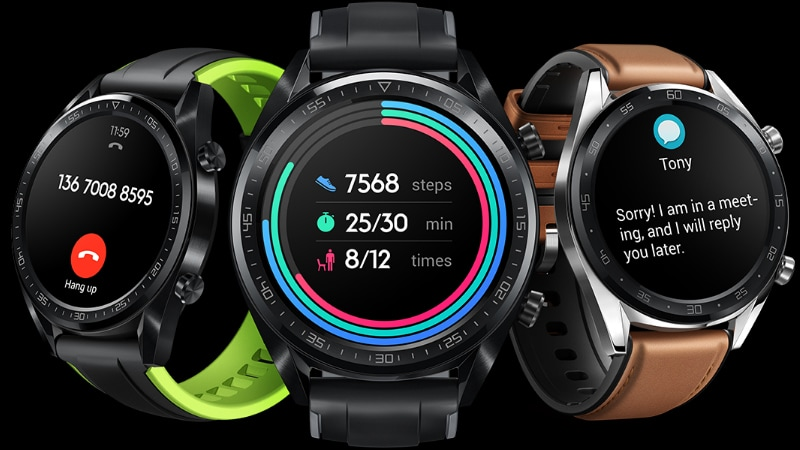 Huawei Watch GT and Band 3 Pro Smart Wearables Launched