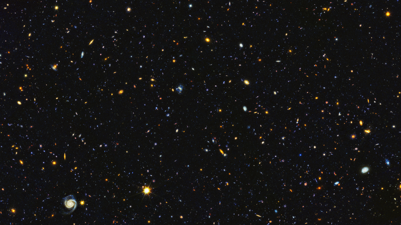 Hubble paints picture of evolving universe