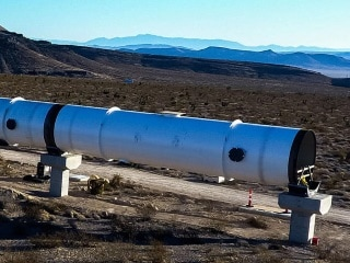 Hyperloop One Test Achieves Speeds of Nearly 310Kmph