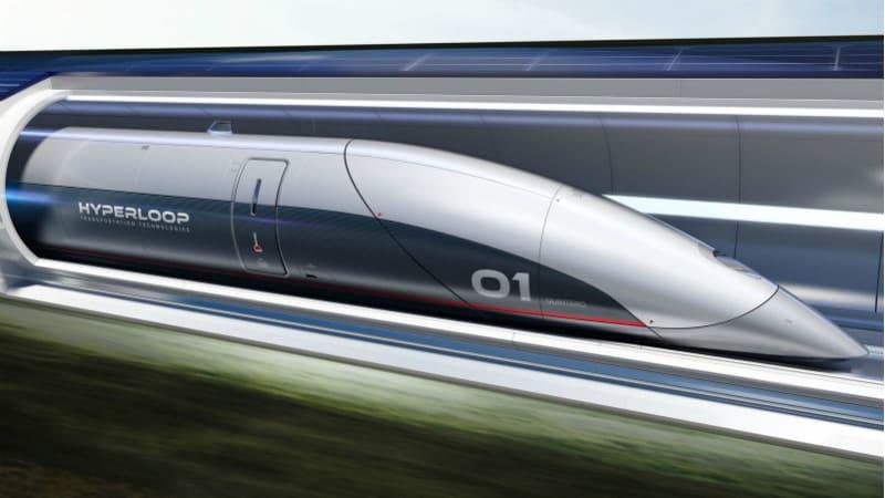700-Km Long Hyperloop Transportation System Proposed in Andhra