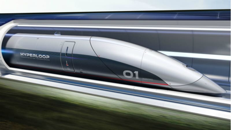 700-Km Long Hyperloop Transportation System Proposed in Andhra