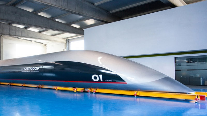 First Full-Scale Hyperloop Passenger Capsule Unveiled by US-Based Company