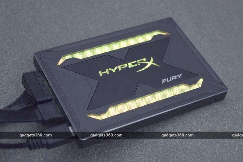 HyperX Fury RGB LED SSD Review