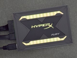 HyperX Fury RGB LED SSD Review