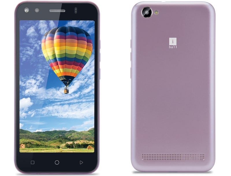 iBall Andi Wink 4G With VoLTE Support, 5-Megapixel Camera Launched at Rs. 5,999