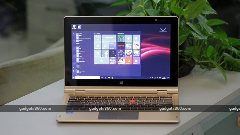 iBall CompBook i360 front ndtv iball