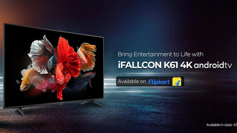 iFFalcon K61 4K TV With HDR10 Support, 24W Speaker System Launched in India