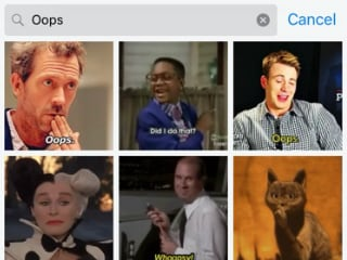 iMessage Gif Search on iOS 10 Throws Up Porn Results; Apple Scrambles to Fix