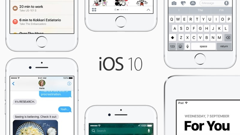 iOS 10: Ten Cool Things to Try in Apple's Latest Mobile OS