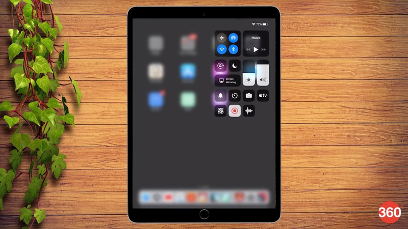 iOS 12 apple ipad gestures control centre iOS 12