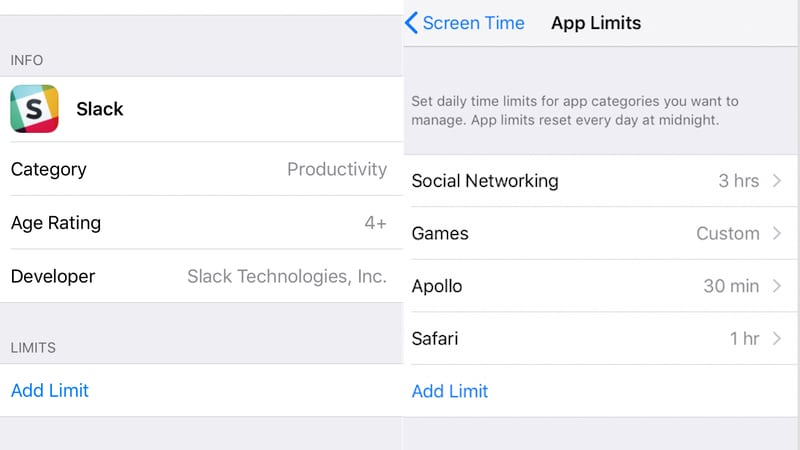 iOS 12 apple screen time limit apps sc iOS 12