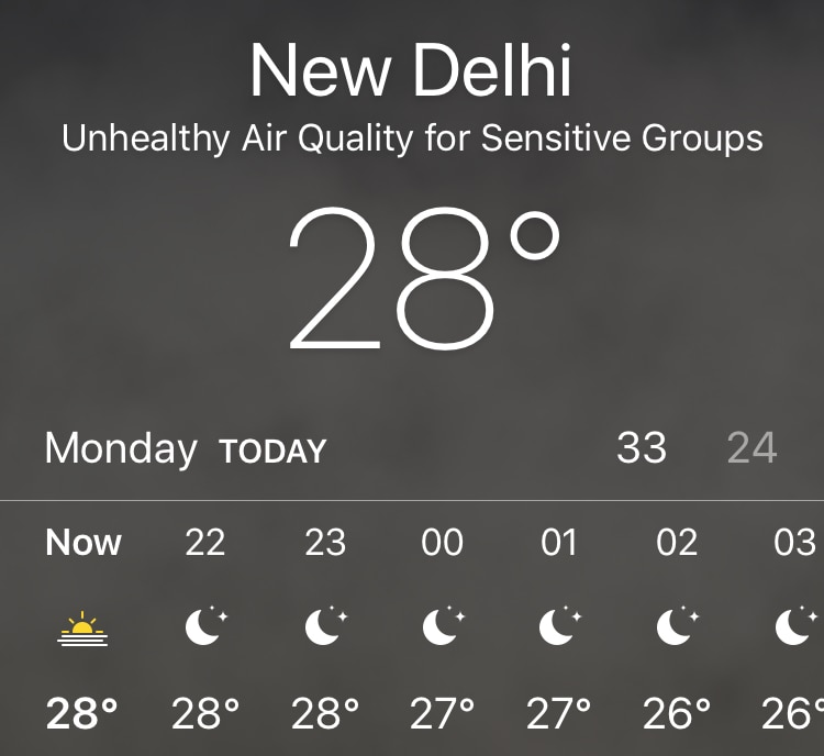 iOS 12 apple weather air quality index iOS 12