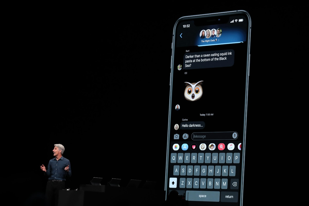 iOS 13 Announced With Dark Mode, Apple ID Authentication