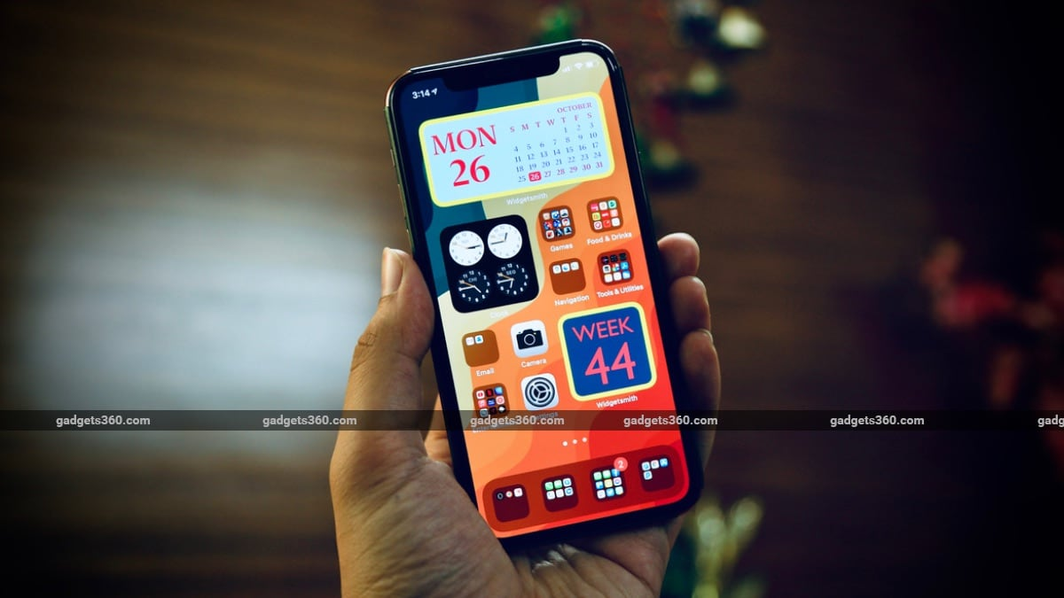 Ios 14 Best Widgets How To Create An Empty Space On Home Screen Ndtv Gadgets 360