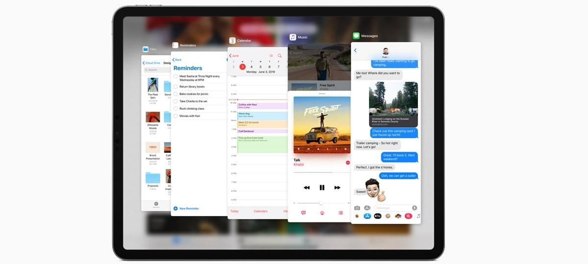 iPadOS multitasking iPadOS