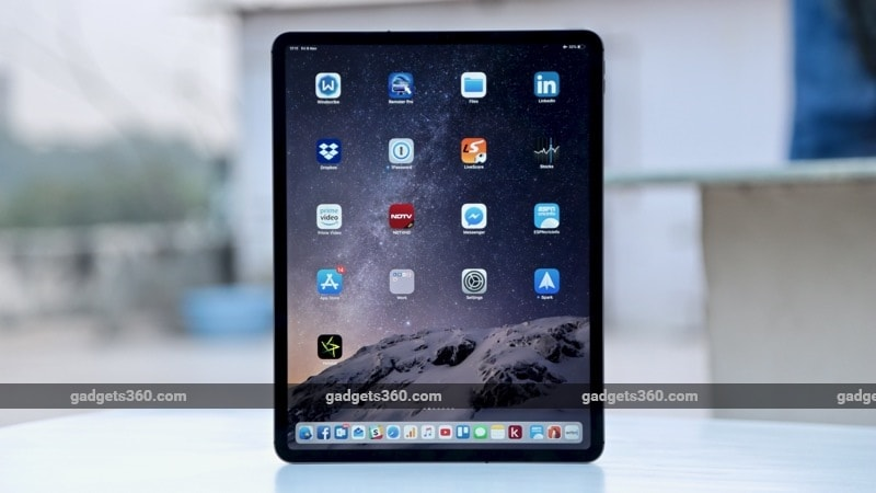 iPad Pro 2018 ndtv 4 iPad Pro