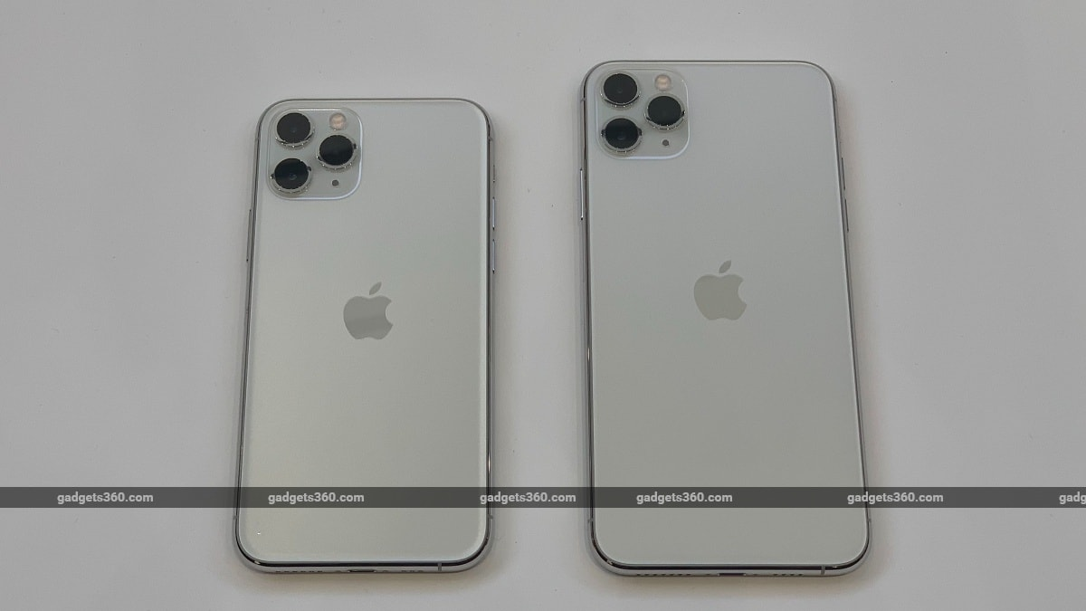 iPhone 11 Pro, iPhone 11 Pro Max With Triple Rear Cameras