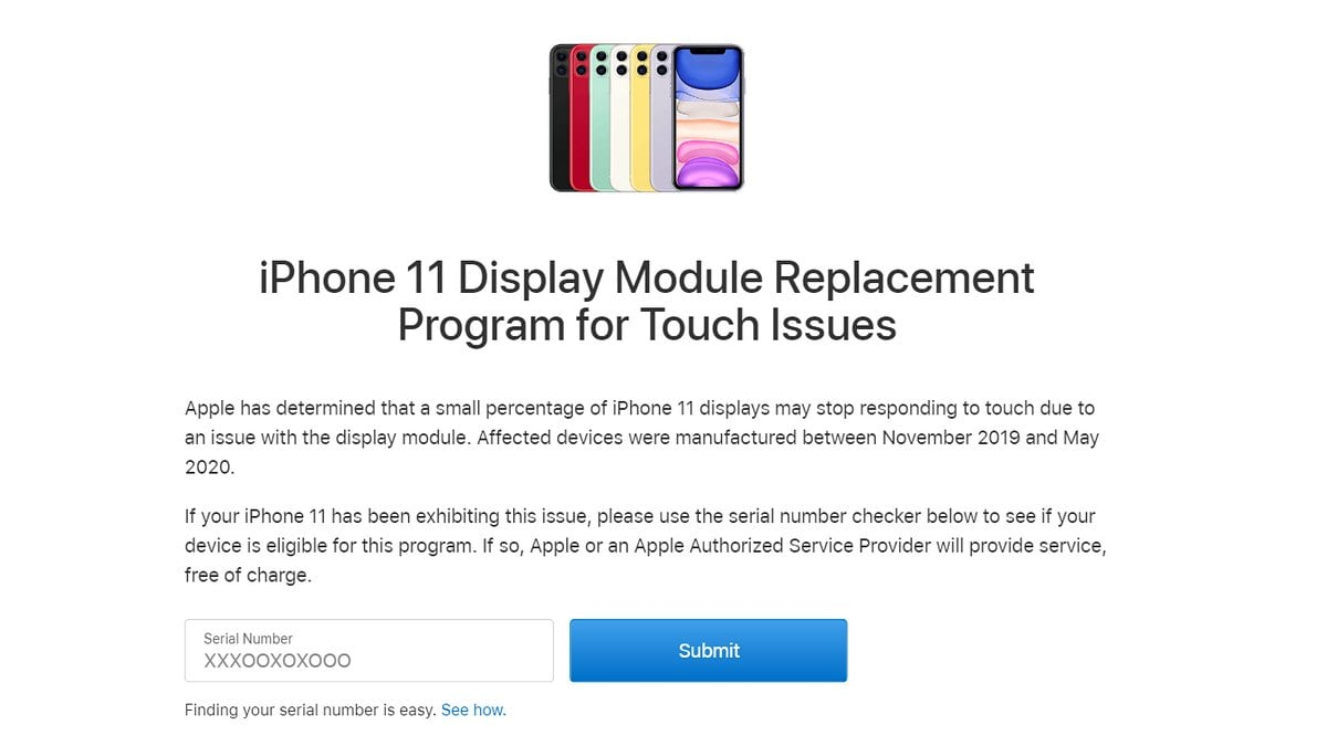 IPhone 11 Users With Touch Screen Issues Can Get Free Service From Apple |  The US Express News