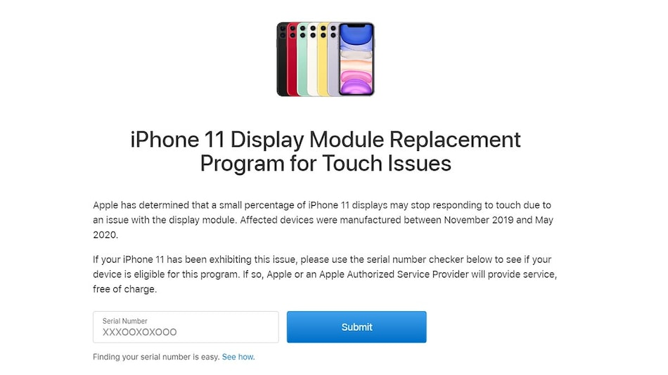 iPhone 11 Users Facing Touchscreen Issues Can Get Free Display Replacement from Apple: How to Check Eligibility