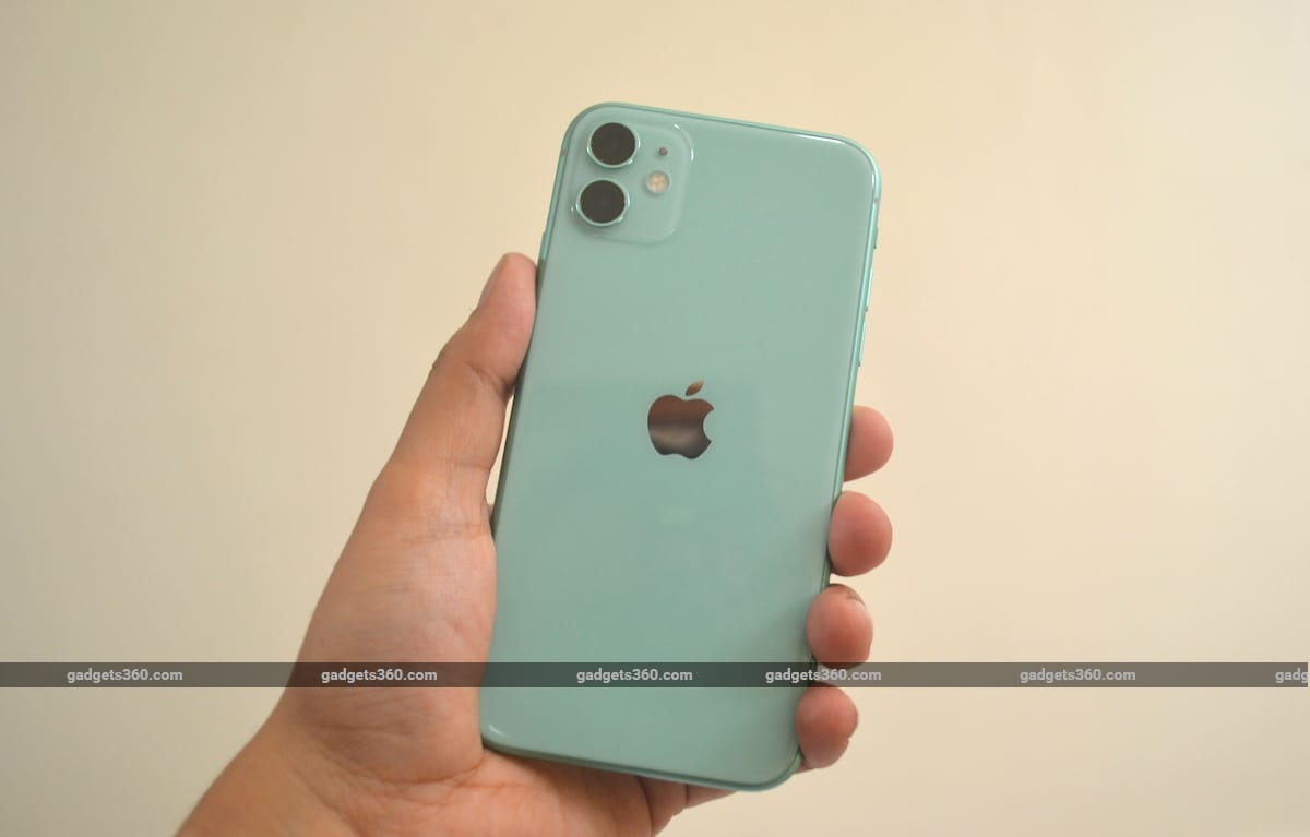iPhone 11 review back iPhone 11 review India