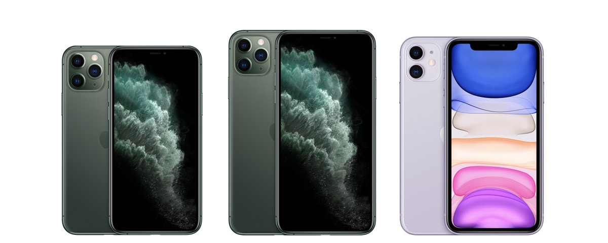 iPhone 11 vs iPhone 11 Pro vs iPhone 11 Pro Max Price in