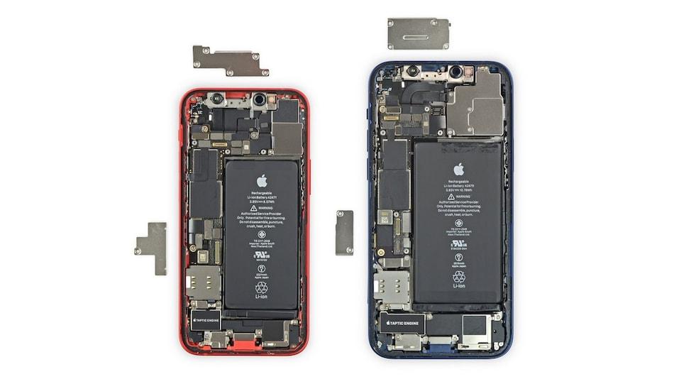 iPhone 12 mini iFixit Teardown Shows Smaller Taptic Engine, Loudspeaker, Asymmetric Antennas