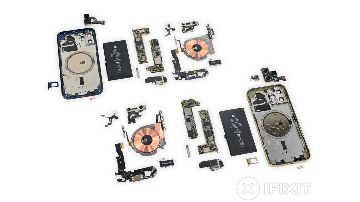 iPhone 12, iPhone 12 Pro iFixit Teardown Reveals Battery, RAM Details, Same Repairability Score as iPhone 11
