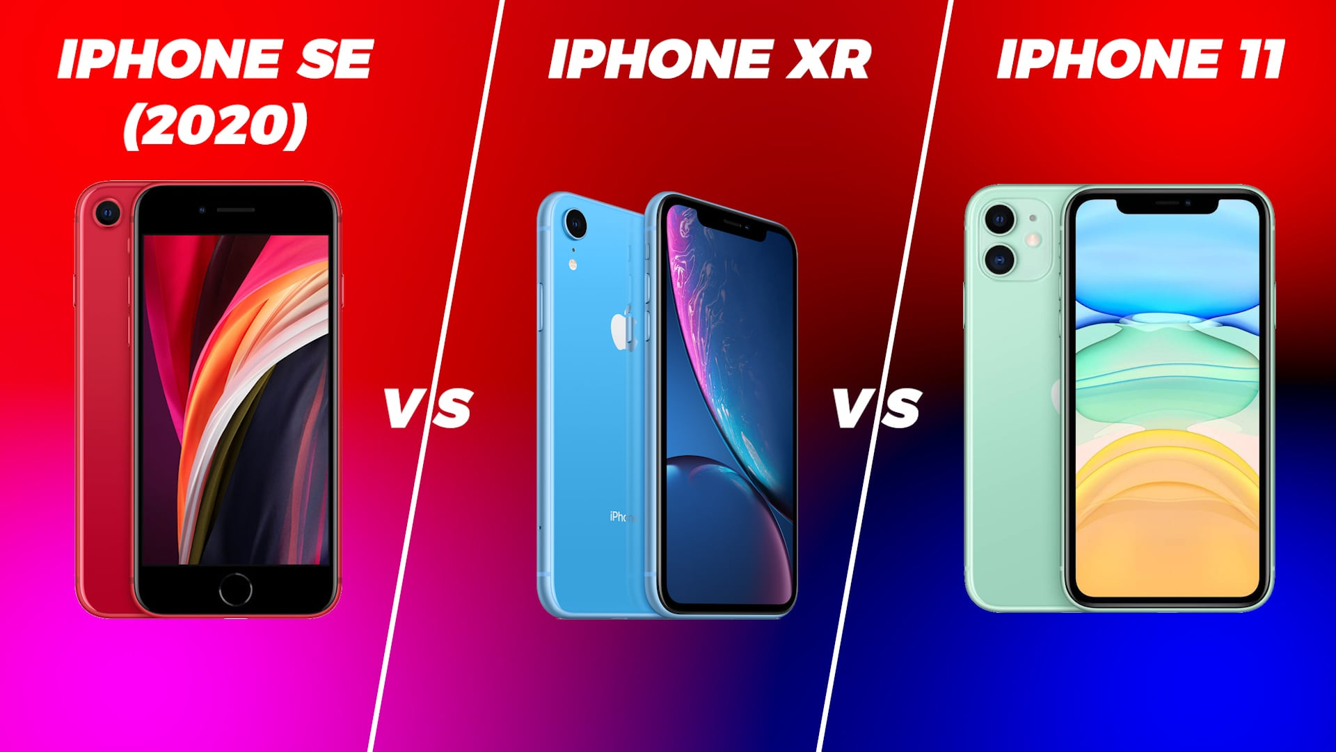 iPhone 11 vs iPhone SE (2020) vs iPhone XR: Which Is the Best 'Affordable' iPhone in India?