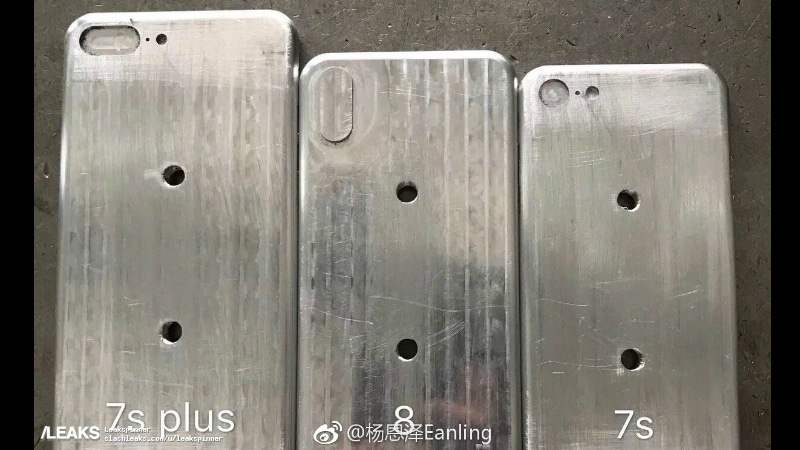 iPhone 8, iPhone 7s, iPhone 7s Plus Moulds Leaked in Images