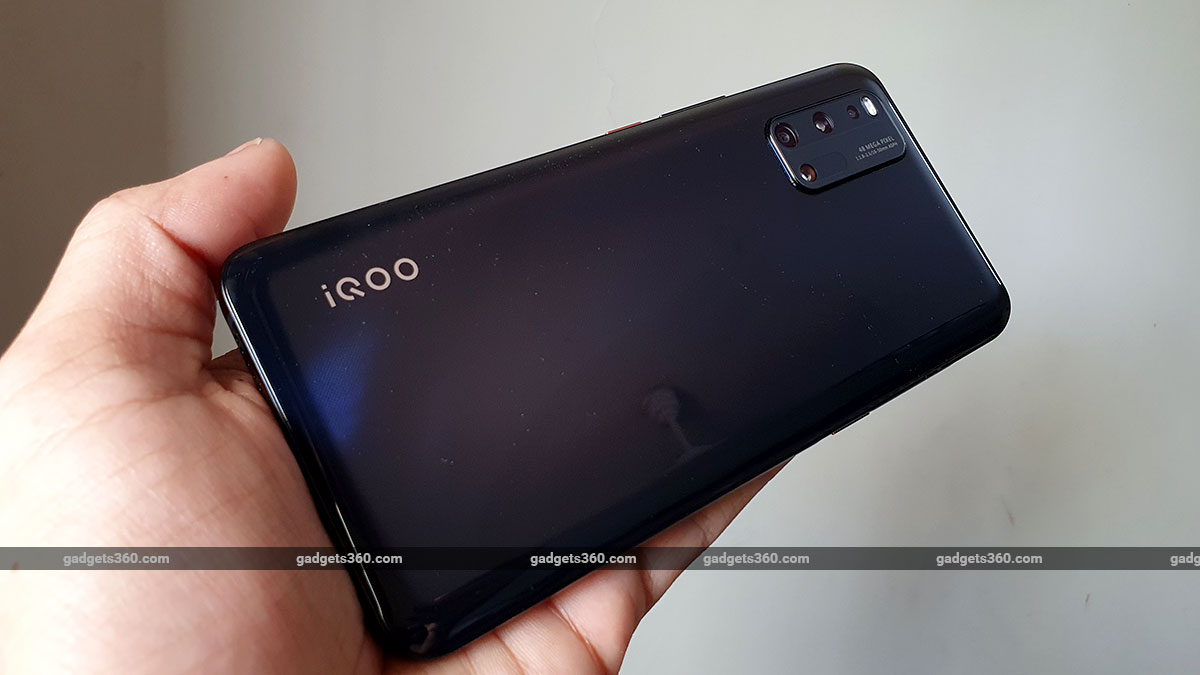 iQoo 3 back iQoo 3 Review