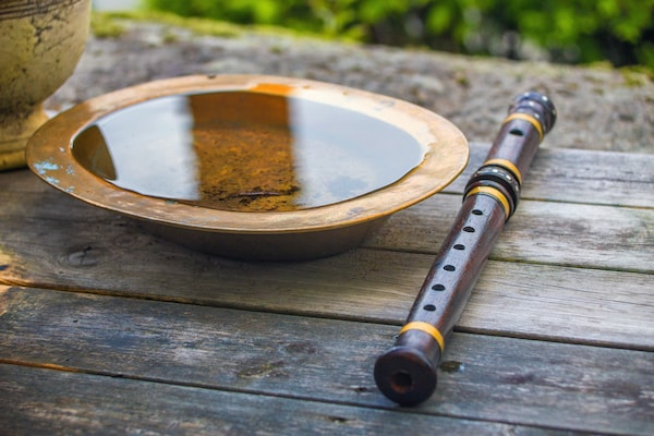 High-Quality Bamboo Flutes Tuned To C-Scale