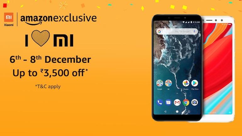 'I Love Mi' Amazon सेल में Xiaomi Mi A2 और Redmi Y2 मिलेंगे सस्ते में