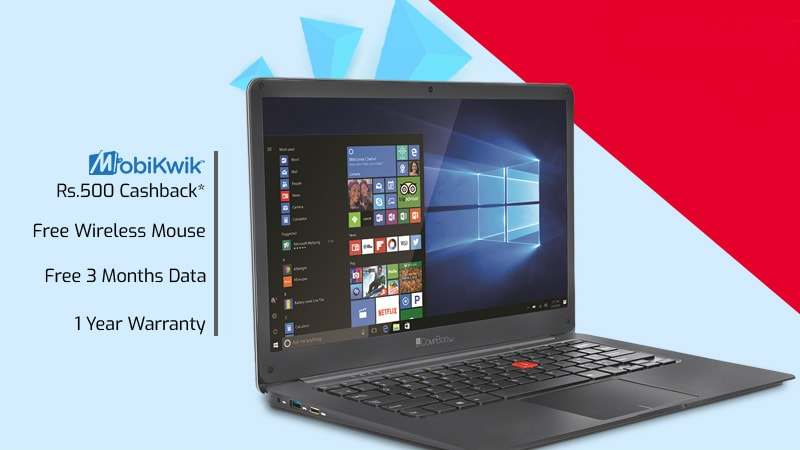 iBall CompBook Netizen With 4G SIM Slot Launched in India: Price, Specifications