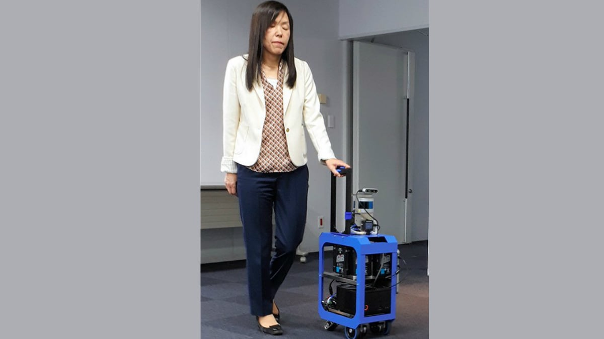 IBM Working on AI Suitcase to Help Visually Challenged People Travel Independently
