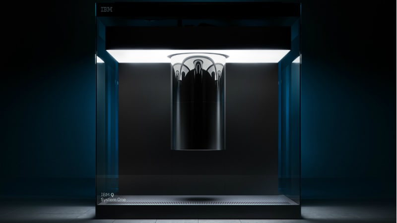IBM's Q System One is the world's first commercial quantum computer