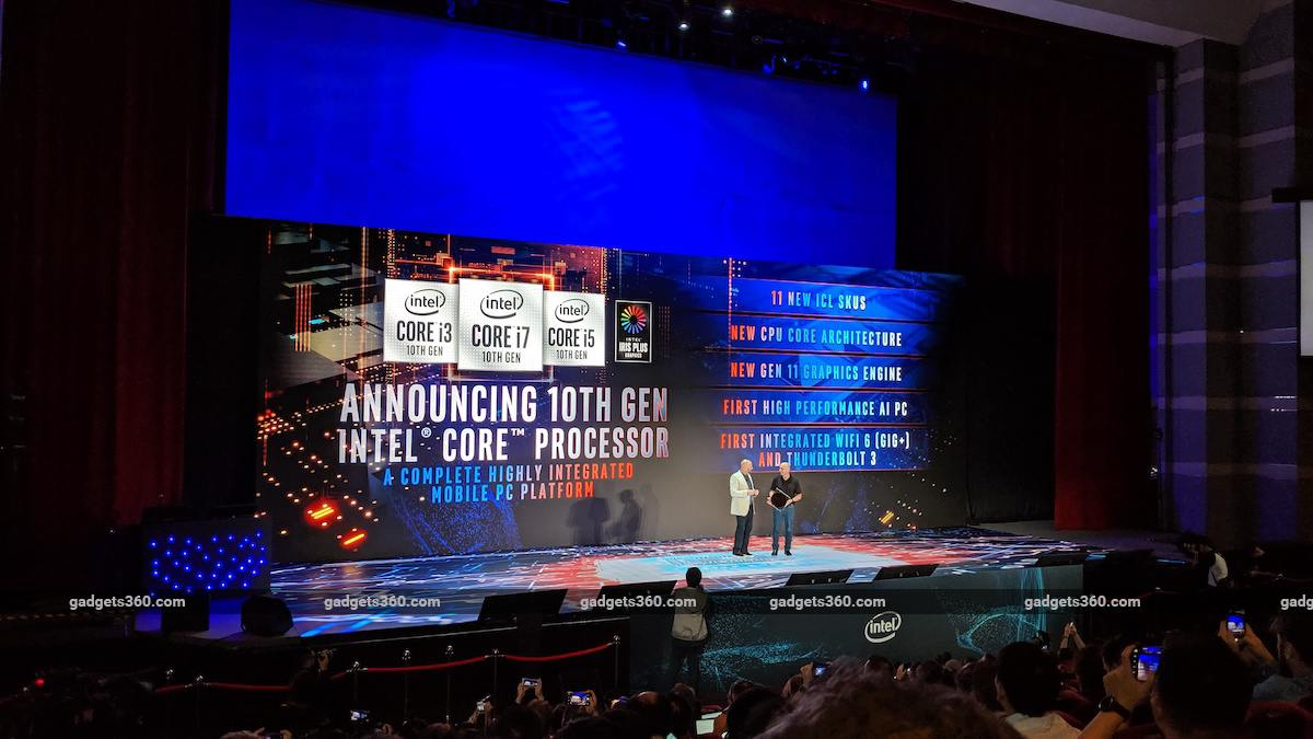 Intel 10th Gen Core 'Ice Lake' 10nm CPUs, Project Athena