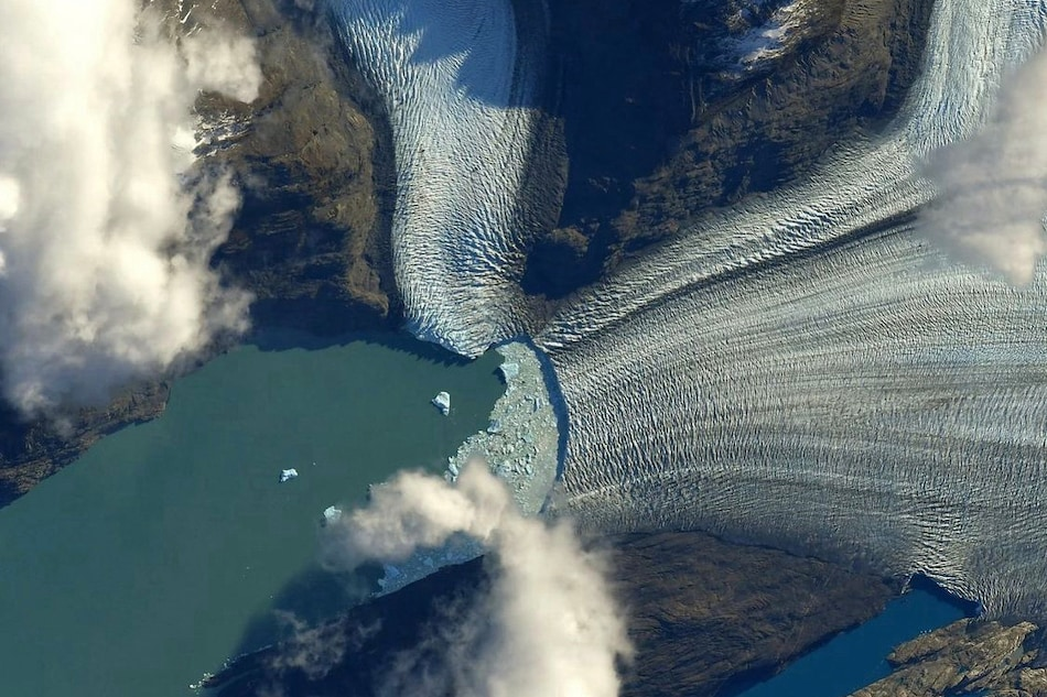 NASA Releases Stunning Image Of Huge Glacier Melting Away Taken From International Space Station