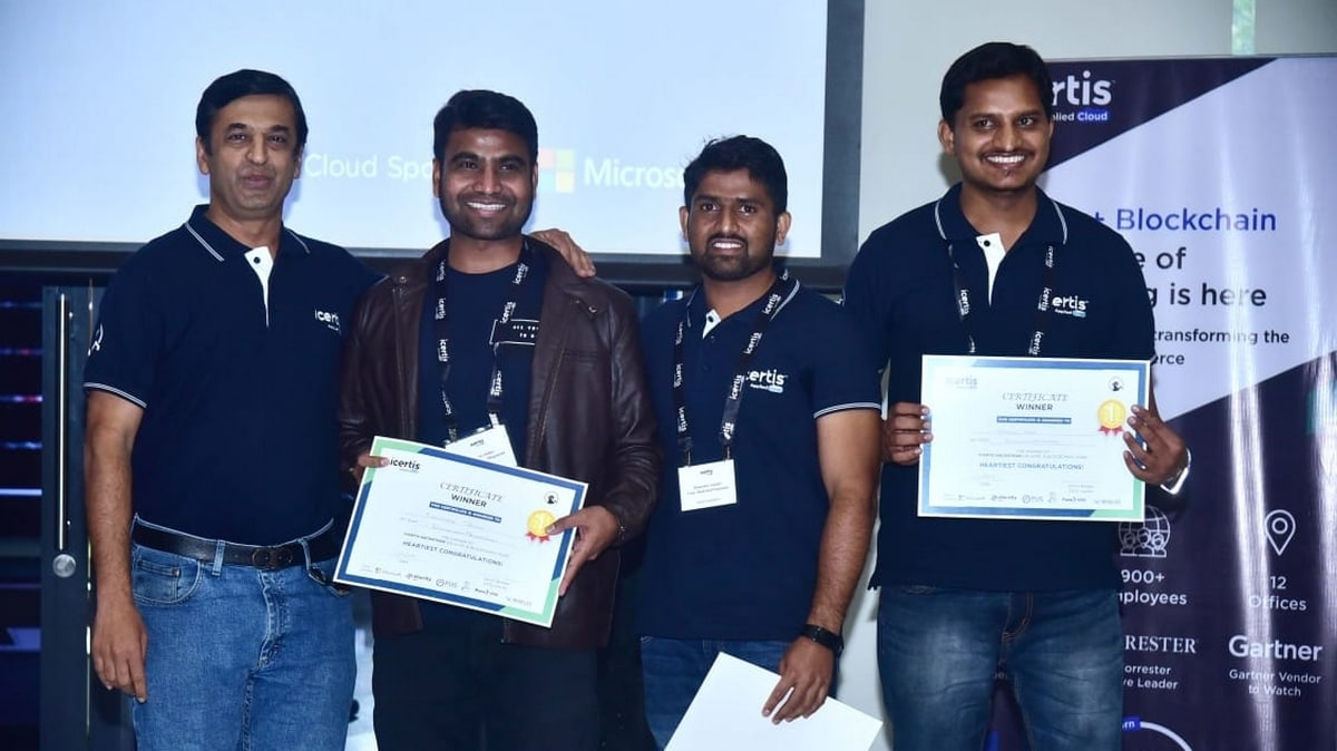 Farmers' Kids Win India's Largest Artificial Intelligence, Blockchain Hackathon