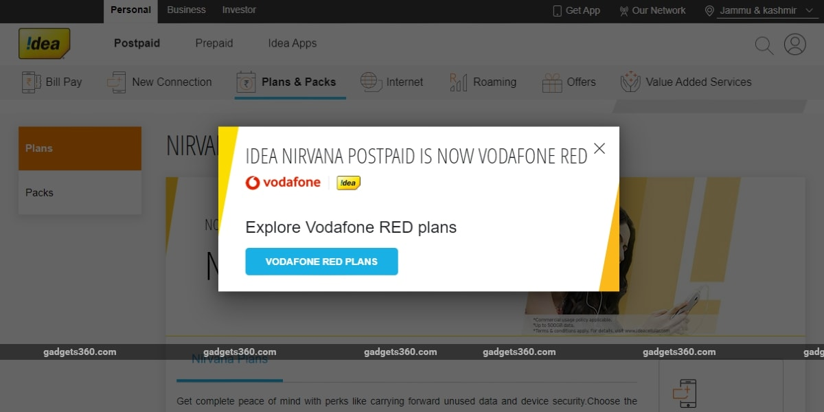 Idea Nirvana Migration to Vodafone Red Completed in Eight Circles, Rollout in Three Circles Delayed to June 8