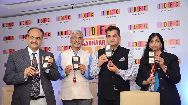 IDFC Aadhaar Pay launched
